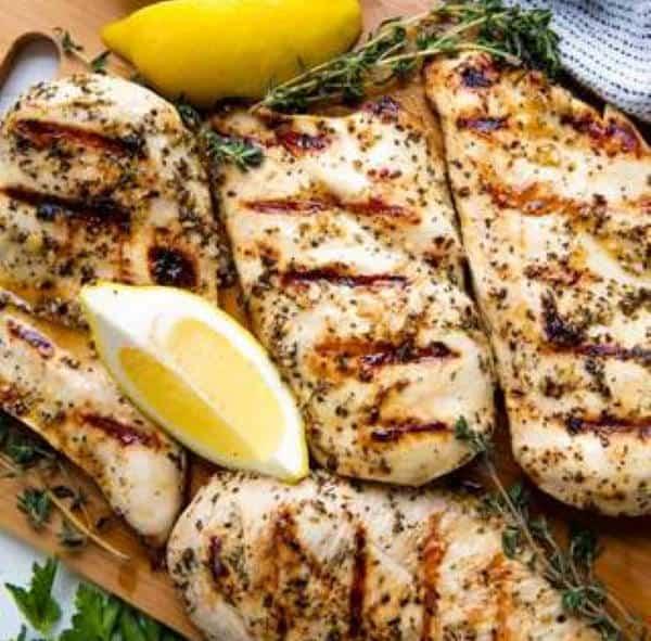 Chicken Marinade with lemon